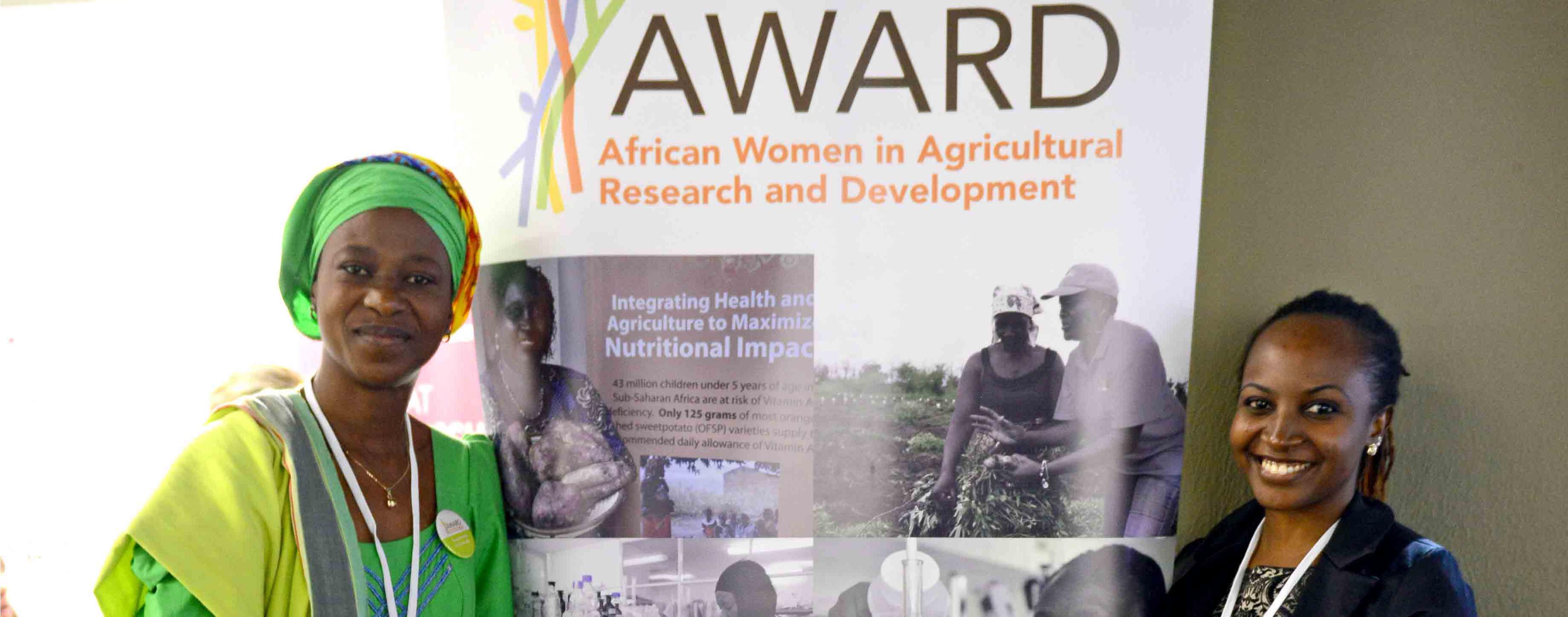 African Women in Agricultural Research & Development (AWARD) Fellowship 2017/18
