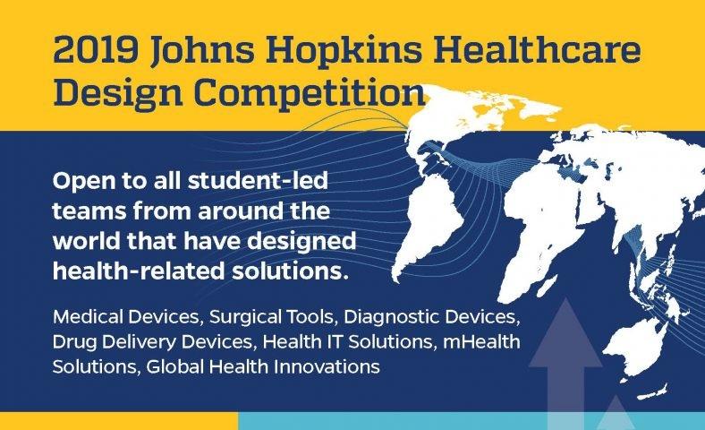 Johns Hopkins Healthcare Design petition 2019